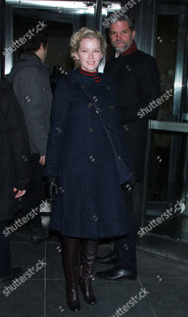 Stock Photo of Gretchen Mol, Tod Williams