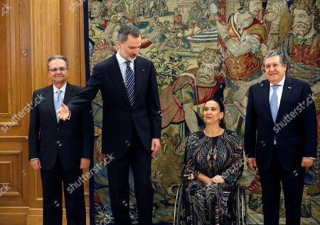 Editorial image of Spain's King Felipe VI receives Vice President of Argentina Gabriela Michetti in Madrid - 05 Mar 2019