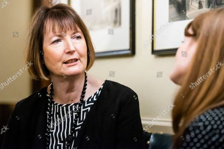 Harriet Harman MP joins the lobby in Parliament