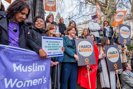 Editorial picture of Harassment #March4Women and Lobby, London, UK - 05 Mar 2019