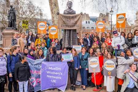 Editorial photo of Harassment #March4Women and Lobby, London, UK - 05 Mar 2019