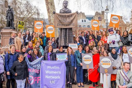 Editorial image of Harassment #March4Women and Lobby, London, UK - 05 Mar 2019