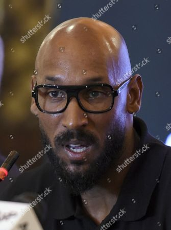 Editorial image of Former French soccer player Nicolas Anelka visits Pakistan, Islamabad - 05 Mar 2019