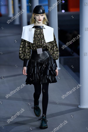 Editorial image of Louis Vuitton - Runway - Paris Fashion Week Women F/W 2019/20, France - 05 Mar 2019