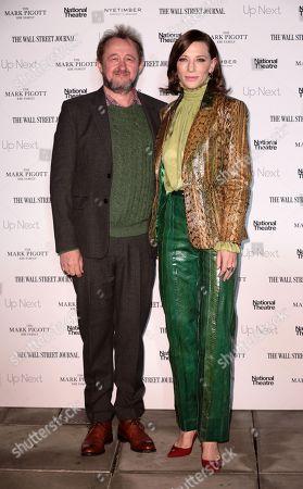 Stock Photo of Cate Blanchett, Andrew Upton