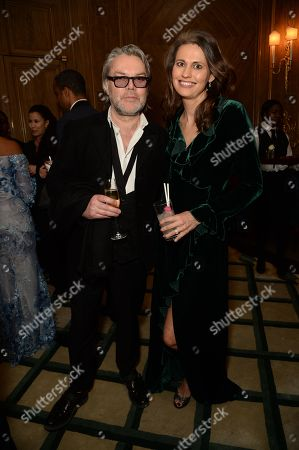 David Downton and Olivia Cole