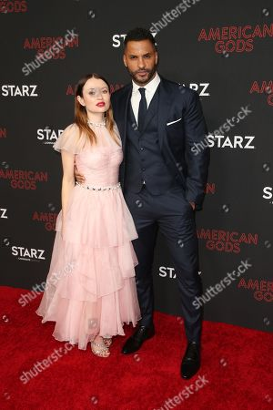 Editorial picture of 'American Gods' TV show season two premiere, Arrivals, Los Angeles, USA - 05 Mar 2019