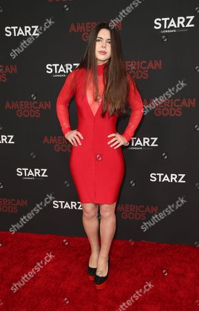 Editorial image of 'American Gods' TV show season two premiere, Arrivals, Los Angeles, USA - 05 Mar 2019
