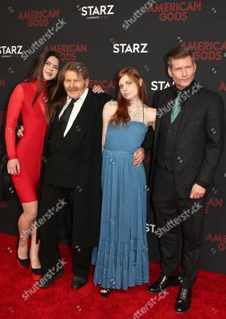 Editorial photo of 'American Gods' TV show season two premiere, Arrivals, Los Angeles, USA - 05 Mar 2019