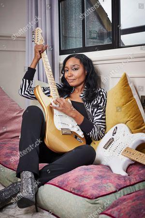 London United Kingdom - February 8: Portrait Of American Musician Malina Moye Photographed In London On February 8