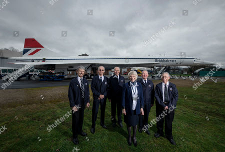 Editorial photo of Golden Jubilee of the maiden flight of Concorde, Weybridge, UK - 02 Mar 2019