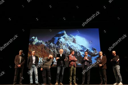 Editorial image of 4th Verona Mountain Film Festival, Day 1, Palazzo della Gran Guardia, Verona, Italy - 05 Mar 2019