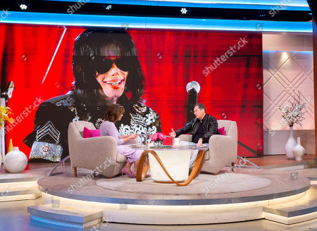 Stock Image of Lorraine Kelly and Mark Lester
