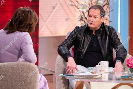 Lorraine Kelly and Mark Lester