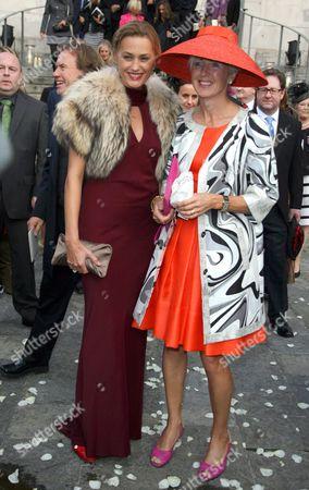 Yasmin Le Bon and Marie Jordan