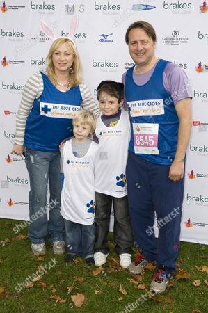 Wendy Turner Webster and Gary Webster and children