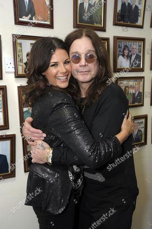 Lisa Cannon and Ozzy Osbourne