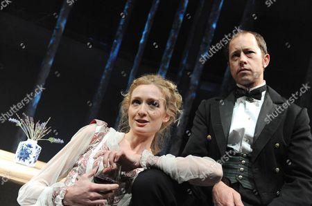 'Miss Julie' - Rachel Pickup (Julie) and Daniel Betts (Jean)