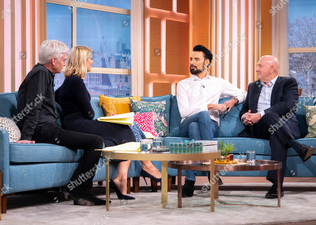 Phillip Schofield, Holly Willoughby, Rylan Clark and Claude Littner