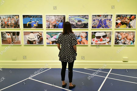 Martin Parr's Grand Slam gallery, at National Portrait Gallery