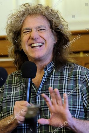 Stock Photo of Pat Metheny attends a press conference before his concert at the LOTOS Jazz Festival in Bielsko-Biala, southern Poland, 06 March 2019. The festival will run until 10 March.