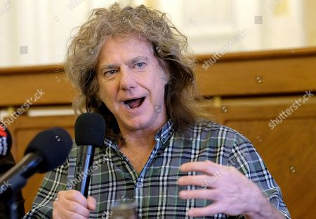 Stock Picture of Pat Metheny attends a press conference before his concert at the LOTOS Jazz Festival in Bielsko-Biala, southern Poland, 06 March 2019. The festival will run until 10 March.