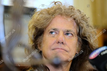Editorial picture of US composer and guitarist Pat Metheny press conference, Bielsko-Biala, Poland - 06 Mar 2019