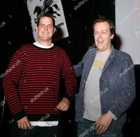Valentine Warner and Tom Parker Bowles