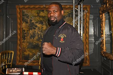 Stock Photo of Hasim Rahman during a Press Conference at The Gore Hotel on 6th March 2019