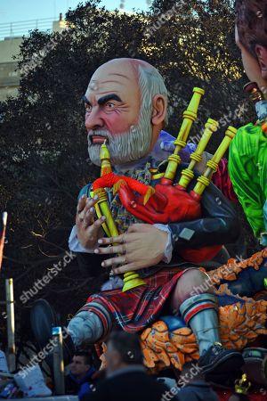Editorial picture of Carnival celebrations, Valletta, Malta - 05 Mar 2019