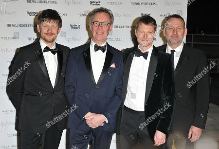 Stock Picture of Simon Godwin, Alex Jennings, Simon Woods and Christopher Eccleston