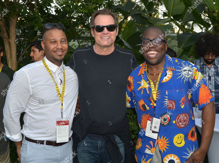 Kevin Sharpley, Jack Coleman and Julius Amedume