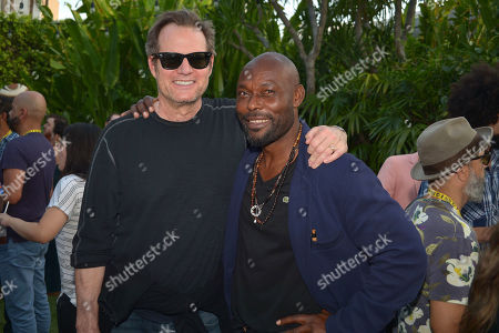 Jack Coleman and Jimmy Jean-Louis