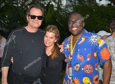Jack Coleman, Beth Toussaint and Julius Amedume