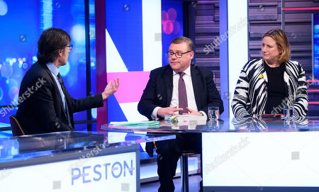 Robert Peston, Mark Francois and Antoinette Sandbach