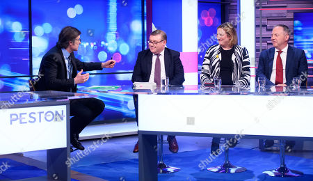 Robert Peston, Mark Francois, Antoinette Sandbach and John Mann