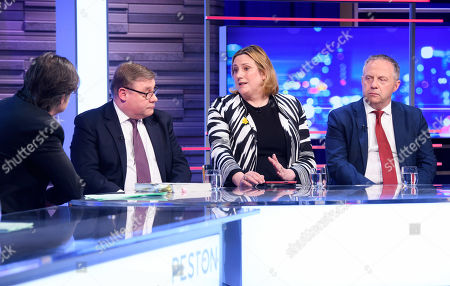 Mark Francois, Antoinette Sandbach and John Mann
