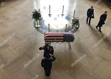 Editorial picture of Richardson Funeral, Salem, USA - 06 Mar 2019