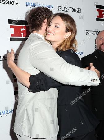 Chris Pratt and Leila George