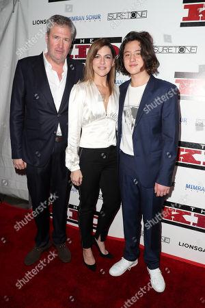 Jordan Schur, Stephanie Schur and Jake Schur