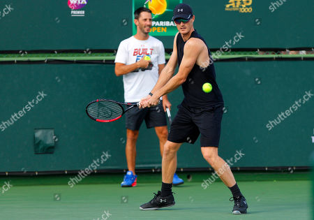 Jamie Murray of Great Britain in action during practice
