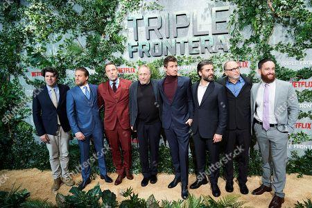 J.C Chandor, Charlie Hunnam, Ben Affleck, Oscar Isaac, Garrett Hedlund