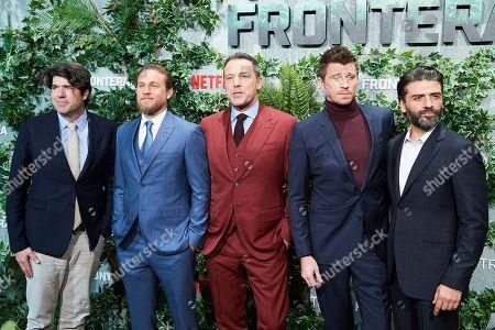 Stock Photo of J.C Chandor, Charlie Hunnam, Ben Affleck, Oscar Isaac, Garrett Hedlund
