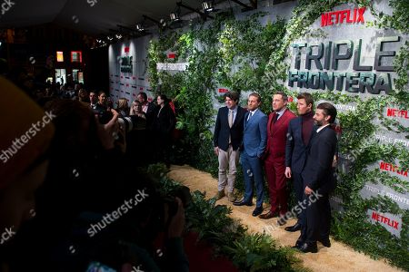 Editorial picture of 'Triple Frontier' film premiere, Madrid, Spain - 06 Mar 2019
