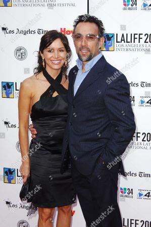 Francesco Quinn and wife Julie McCann