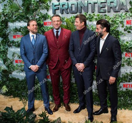 Ben Affleck, Oscar Isaac, Charlie Hunnam and Garrett Hedlund
