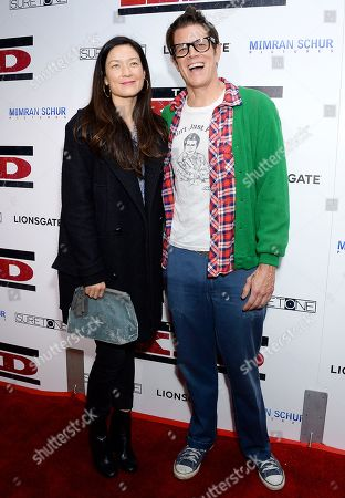Naomi Nelson and Johnny Knoxville