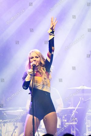Editorial image of Kerri Watt in concert at o2 Kentish Town Forum, London, UK - 06 Mar 2019