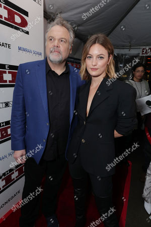 Director Vincent D'Onofrio and Leila George