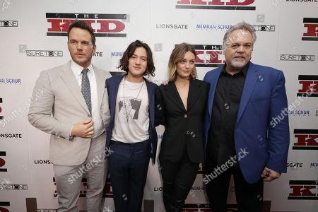 Chris Pratt, Jake Schur, Leila George and Vincent D'Onofrio